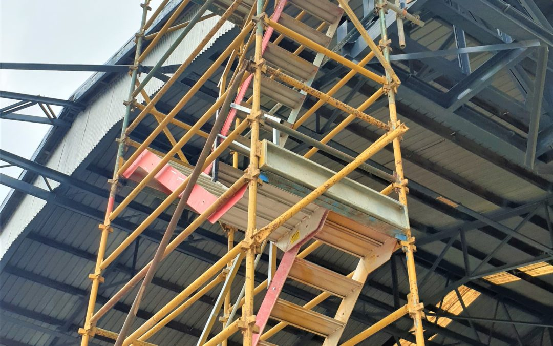 Do you need a Scaffold Stair Access?