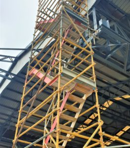 scaffold stair access tower